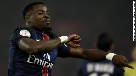 Paris Saint-Germain: Serge Aurier suspended for 'homophobic insult'