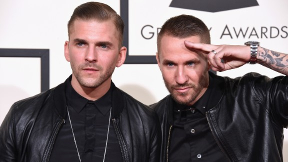 """The electronic duo Galantis: Linus Eklow, left, and Christian """"Bloodshy"""" Karlsson"""