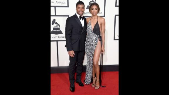 Ciara and her boyfriend, football star Russell Wilson