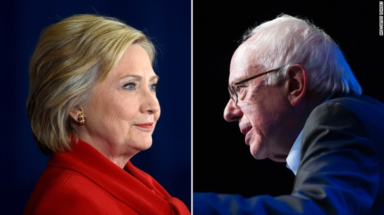Clinton and Sanders battle for California