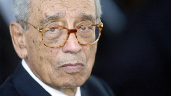 Boutros Boutros-Ghali, who was the United Nations
