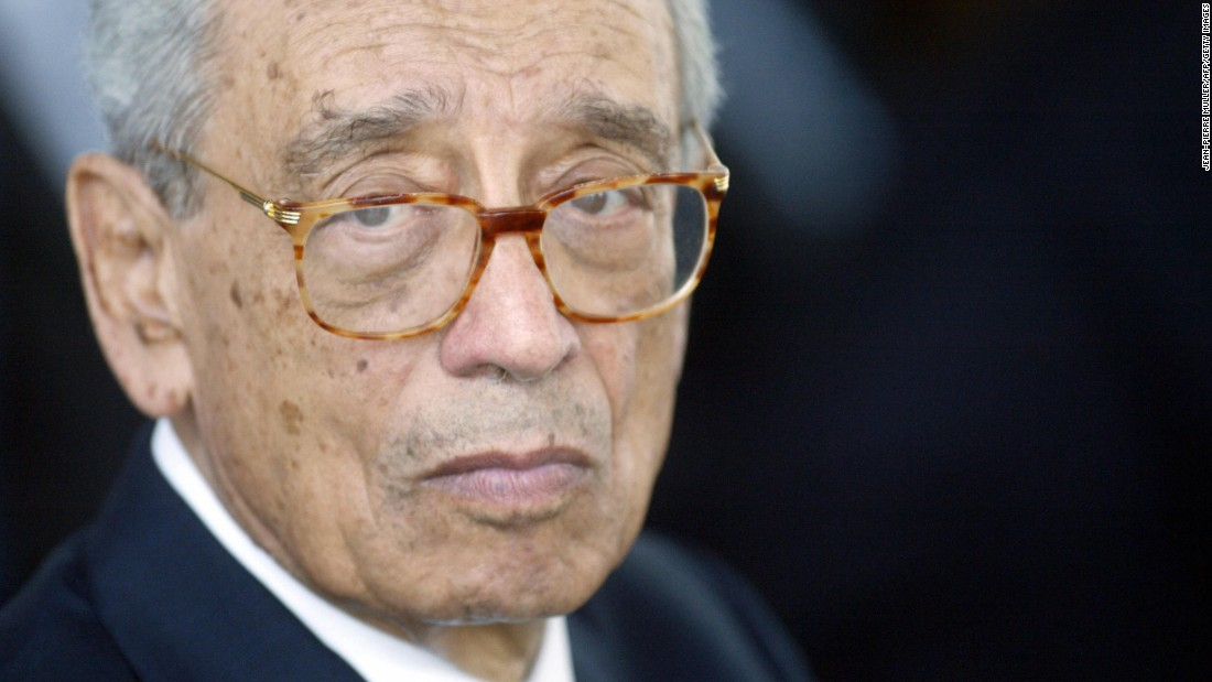 "<a href=""http://www.cnn.com/2016/02/16/world/un-boutros-boutros-ghali-dies/index.html"" target=""_blank"">Boutros Boutros-Ghali</a>, who was the United Nations' sixth secretary-general in the early 1990s, died on February 16. He was 93."