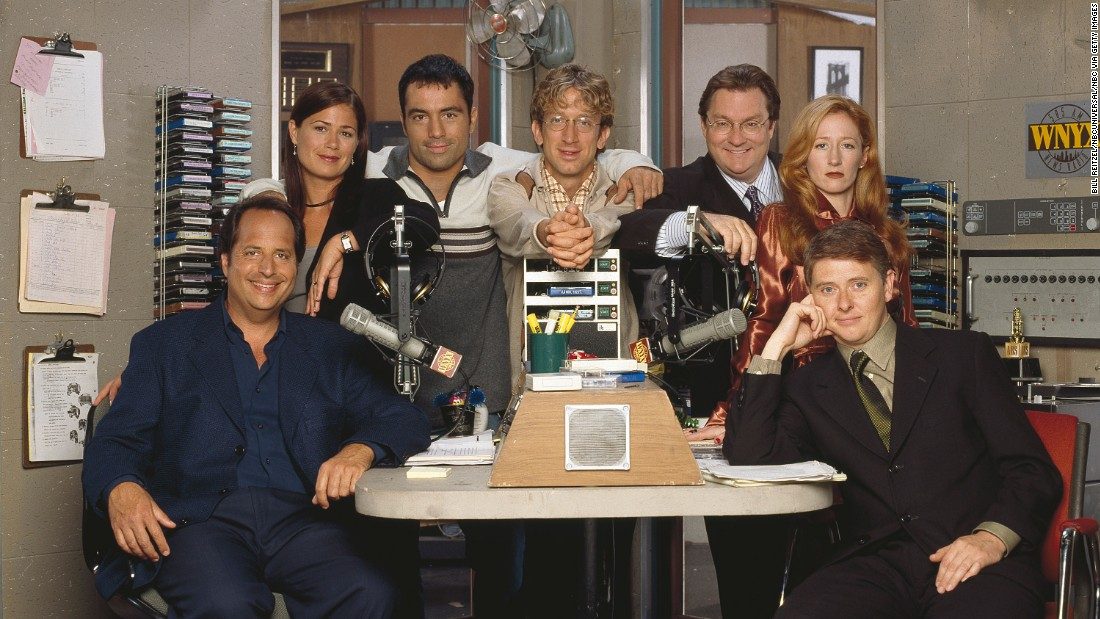 """NewsRadio,"" whose characters worked at a struggling New York radio station, had Burrows behind the camera for seven episodes."