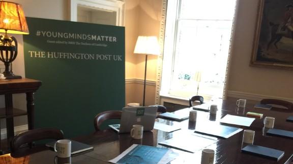 The Kensington Palace newsroom.