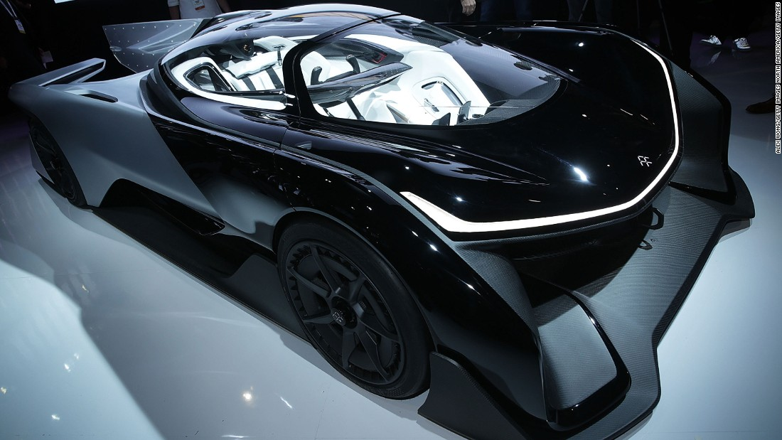 Faraday Future has investing heavily in electric cars. The striking FFZERO1 Concept car was shown off at the CES in Las Vegas in January 2016, and in October the company's team lined up on the grid for the start of the 2016-17 Formula E world championship.