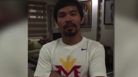 Nike axes Pacquiao over anti-gay remarks