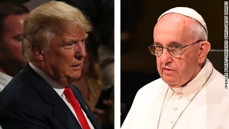 Trump: Pope would wish I'm President if ISIS attacked