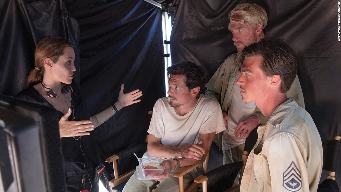 "Angelina Jolie has gone from actress to director with such films as 2014's ""Unbroken,"" the story of Olympian Louis Zamperini, which brought in $115 million at the box office. (The film co-starred Jack O'Connell, center, Domhnall Gleeson and Finn Wittrock.) The most rewarding part: ""Sitting at Louie's bedside in the hospital and revisiting chapters of of his life through our film, while witnessing him preparing to leave his life behind,"" Jolie said."
