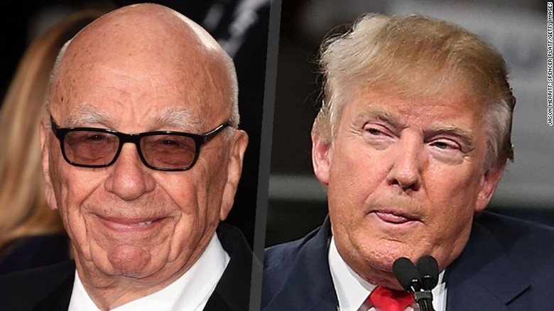 Trump and Murdoch ties raise questions