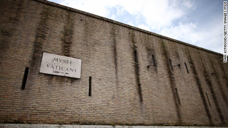 A View Of Vatican City Wall But Not All The Sovereign State Is