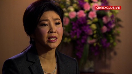 Former Thai PM: 'I've never thought of fleeing'