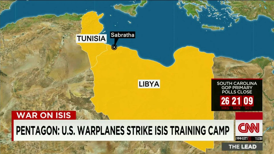 ISIS Expands In PostGadhafi Libya CNN - Isis Training Camps In Us Map