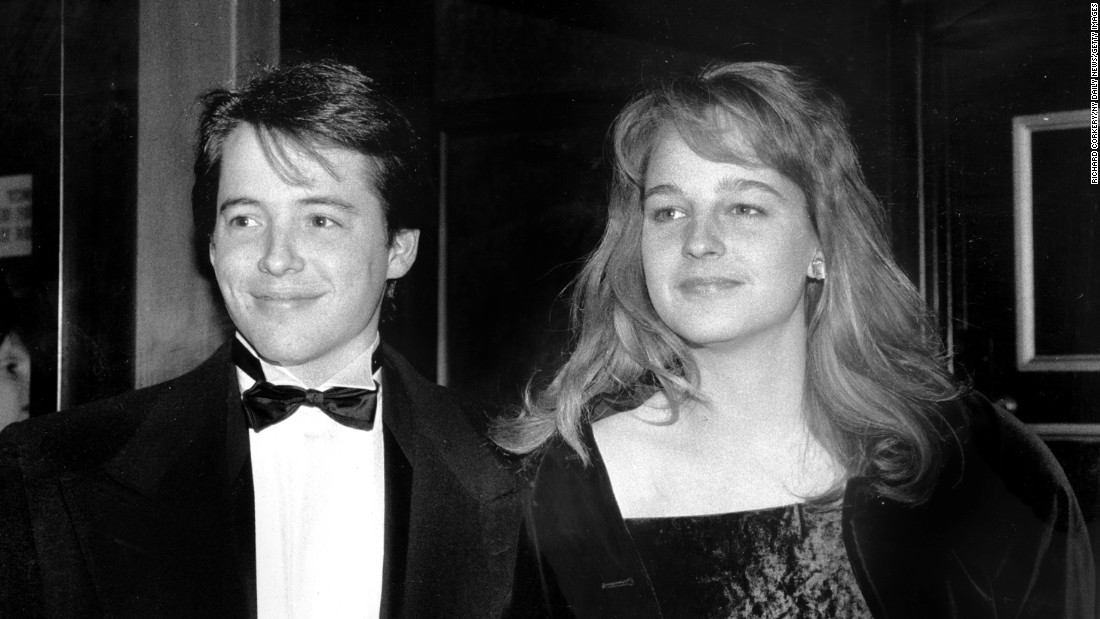 "<strong>Matthew Broderick and Helen Hunt:</strong> The actors dated briefly in 1987 and remained close friends after their breakup. They even starred together in 2007's ""Then She Found Me."""
