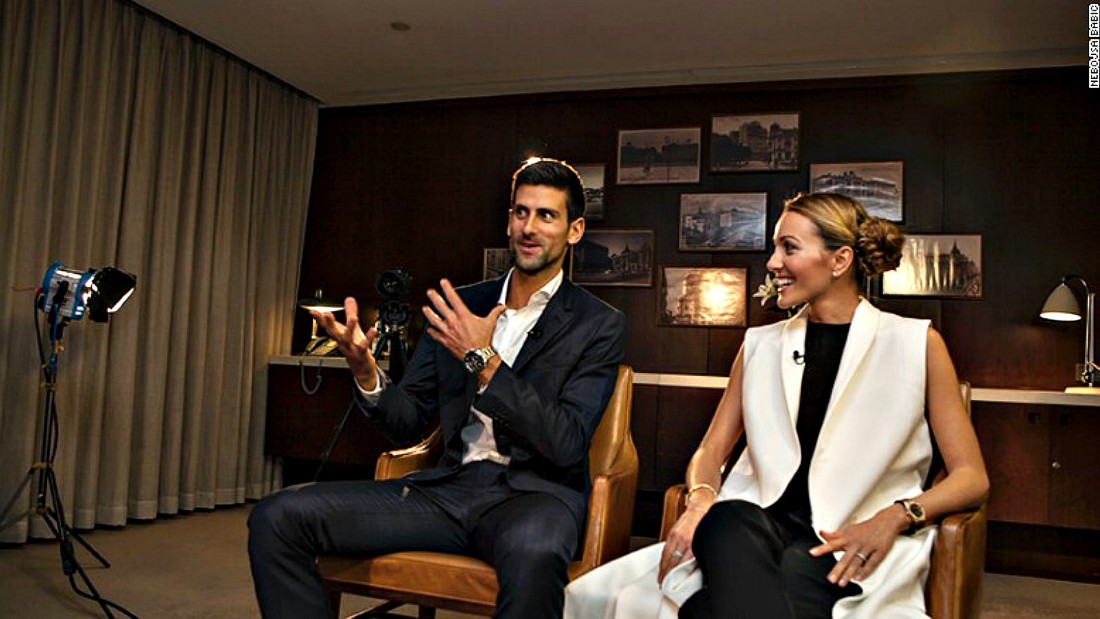 "Novak Djokovic says sporting icons ""absolutely"" have responsibilities as role models ..."