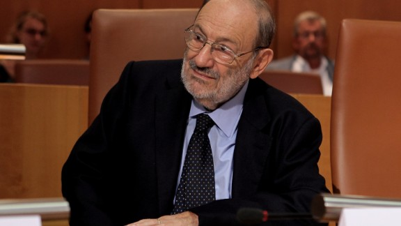 "Umberto Eco, author of the novels ""The Name of the Rose"" and ""Foucault"