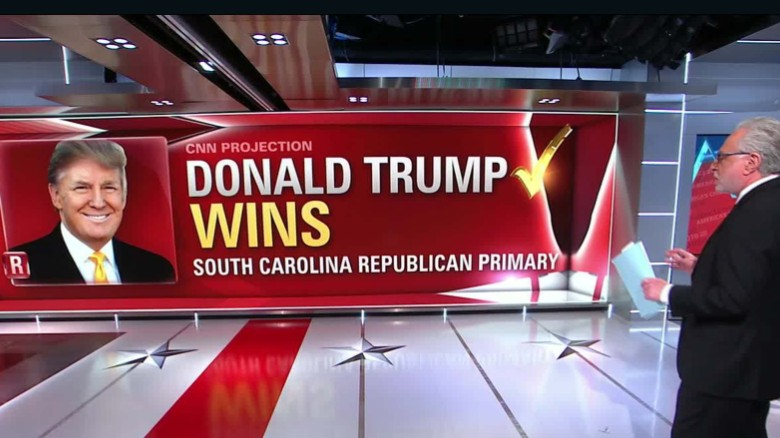 South Carolina GOP primary night on CNN in a minute