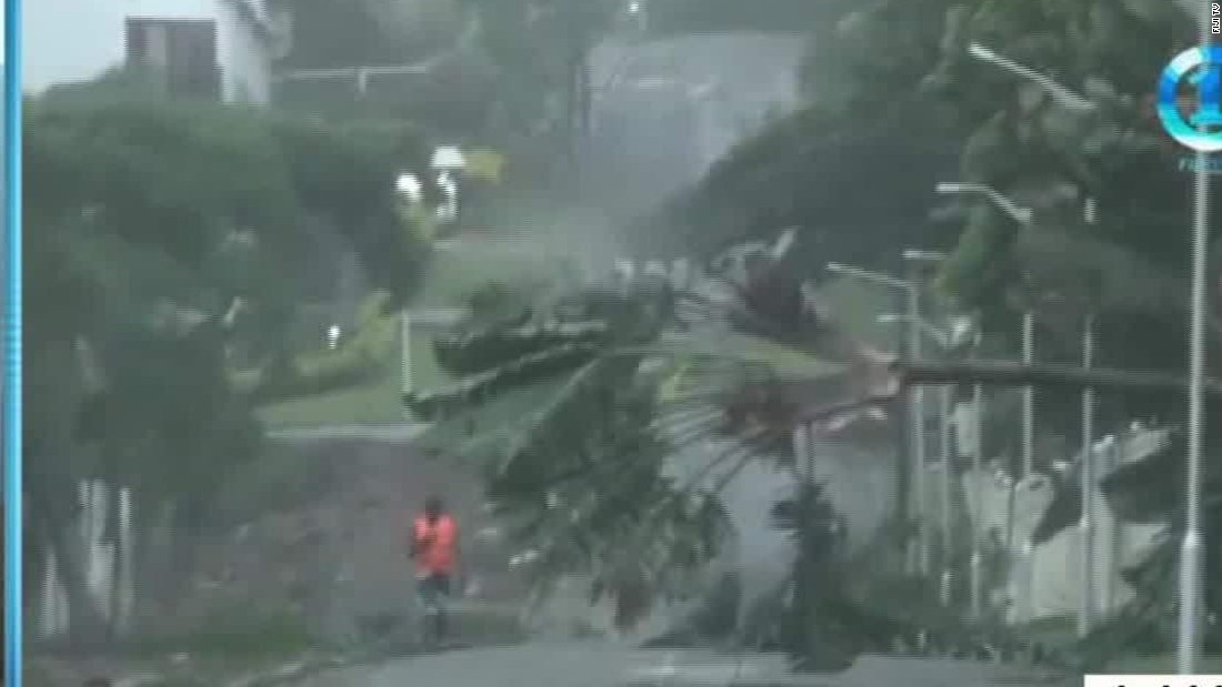In Fiji, 17 dead from 'monster' Cyclone Winston; schools shuttered for a week