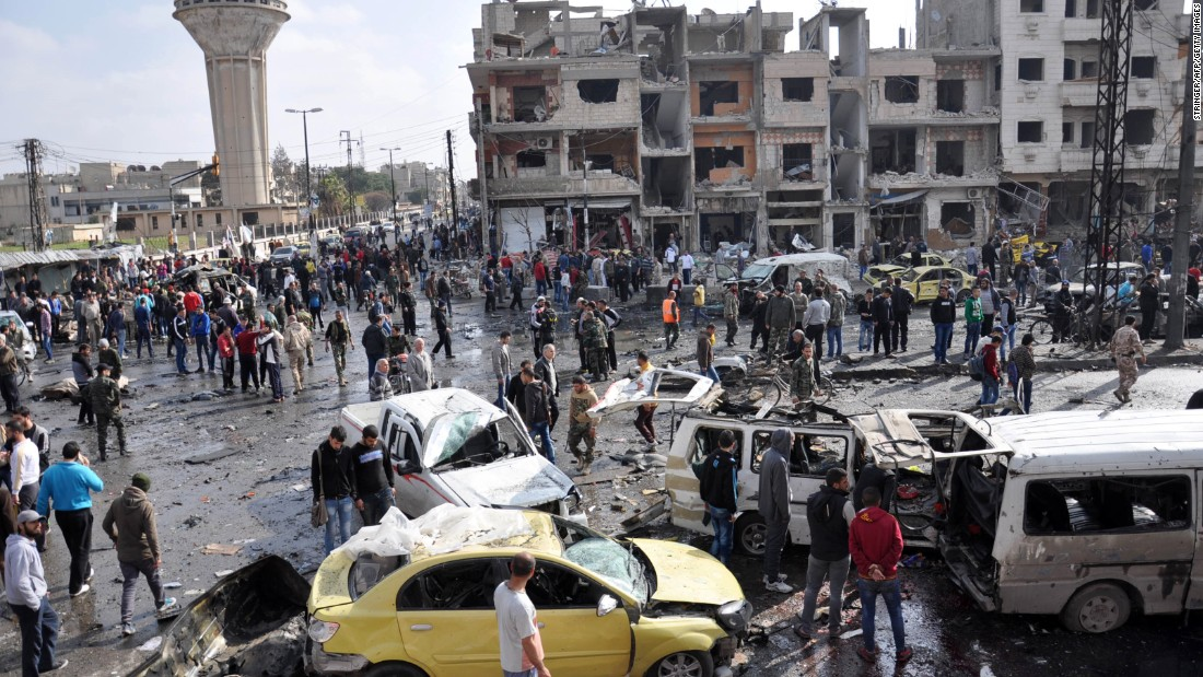 Image result for In Syria Car bomb blast kills eight country's Homs