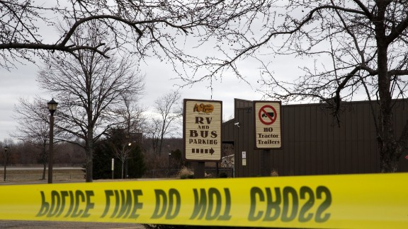 Four women were killed in the parking lot of this Cracker Barrel restaurant.