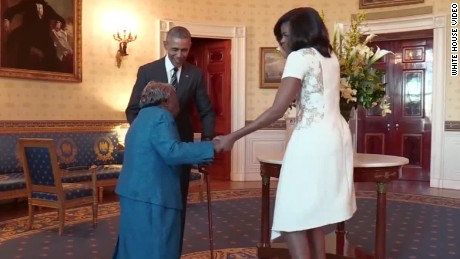 white house 106 year old dances with obama vo_00003909