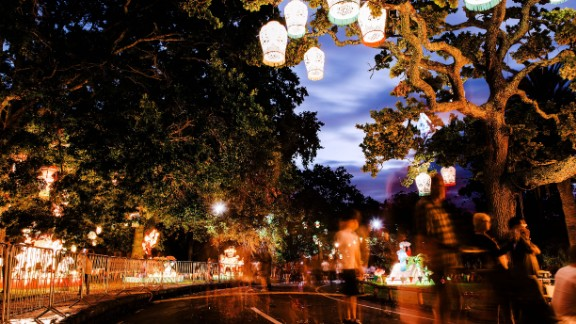 The Auckland Lantern Festival is currently in its 17th year, and attracts thousands of spectators.