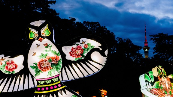 The four day festival is timed to celebrate the Chinese New Year.