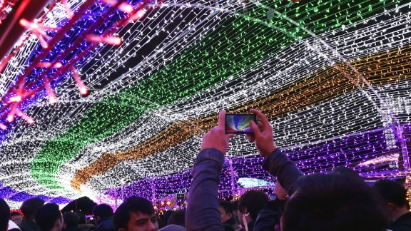 The Taiwan Lantern Festival has been held every year since 1989.