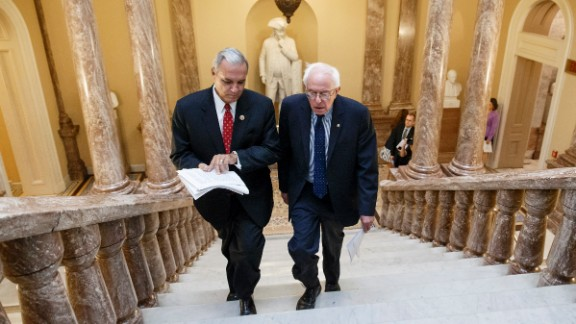 Sanders and US Rep. Jeff Miller, chairman of the House Committee on Veterans