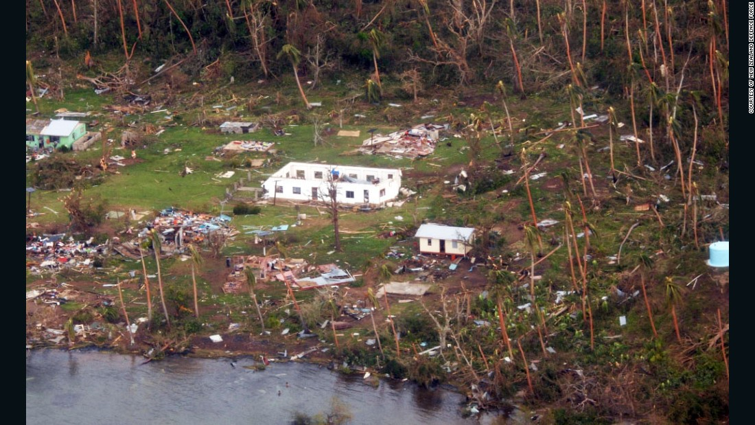 Officials in Fiji are assessing damage in the wake of the ferocious cyclone that tore through the Pacific island chain.