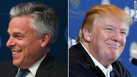 Jon Huntsman: I could get behind Donald Trump