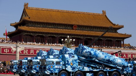 Opinion: China's military is gearing up to compete with the U.S.