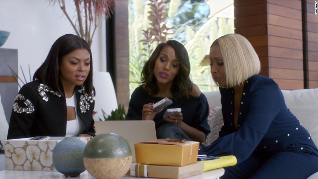 Henson, Kerry Washington and Mary J. Blige teamed up in a commercial for Apple's new streaming service. When it aired during the Super Bowl, #blackgirlmagic and #squadgoals were the go-to terms.