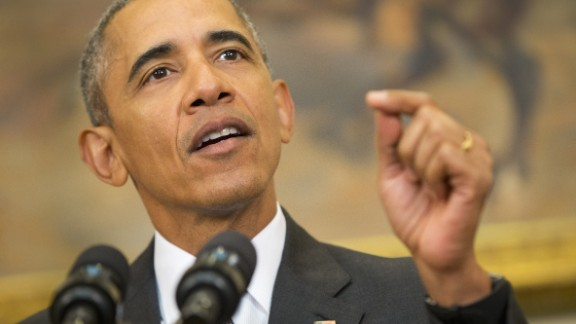 President Barack Obama speaks in the Roosevelt Room of the White House in Washington, Tuesday, Feb. 23, 2016. Obama announced Pentagons long-awaited plan to shut down the detention center at Guantanamo Bay, Cuba, and transfer the remaining detainees to a facility in the U.S. The plan is Obamas last-ditch effort to make good on campaign vow to close Guantanamo. (AP Photo/Pablo Martinez Monsivais)