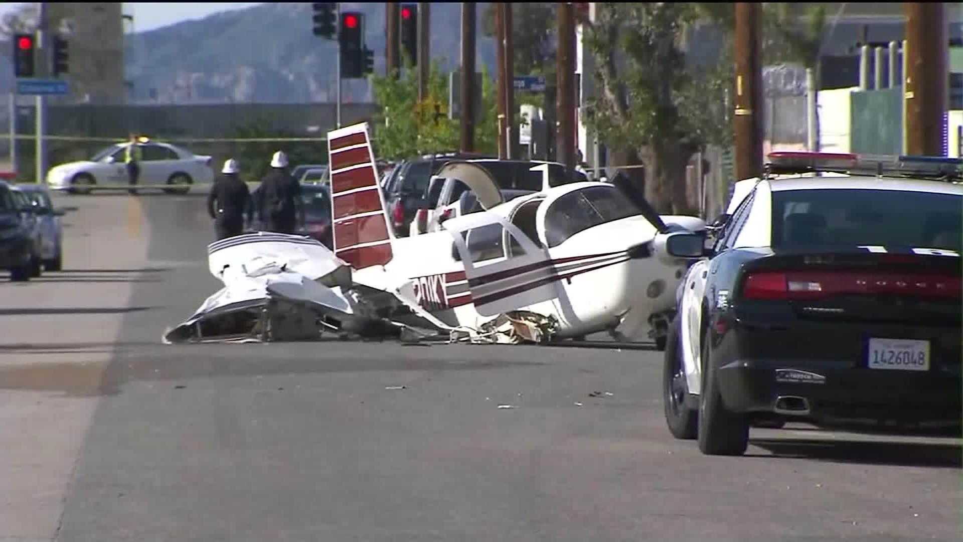 Plane Crashes Into Car Kills Woman Cnn Video