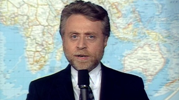 Only a few months into his role as CNN's military affairs correspondent, Wolf Blitzer began covering the Gulf War.