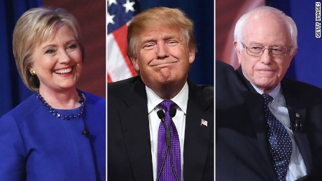 National poll: Clinton, Sanders both top Trump