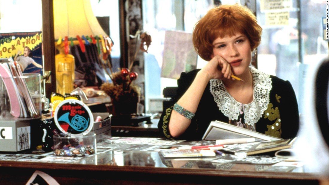 "The 1986 John Hughes film ""Pretty in Pink"" starred Molly Ringwald as Andie Walsh, a creative teenager from the wrong side of the tracks. Ringwald landed the role after major parts in two other '80s classics: ""Sixteen Candles"" and ""The Breakfast Club."""