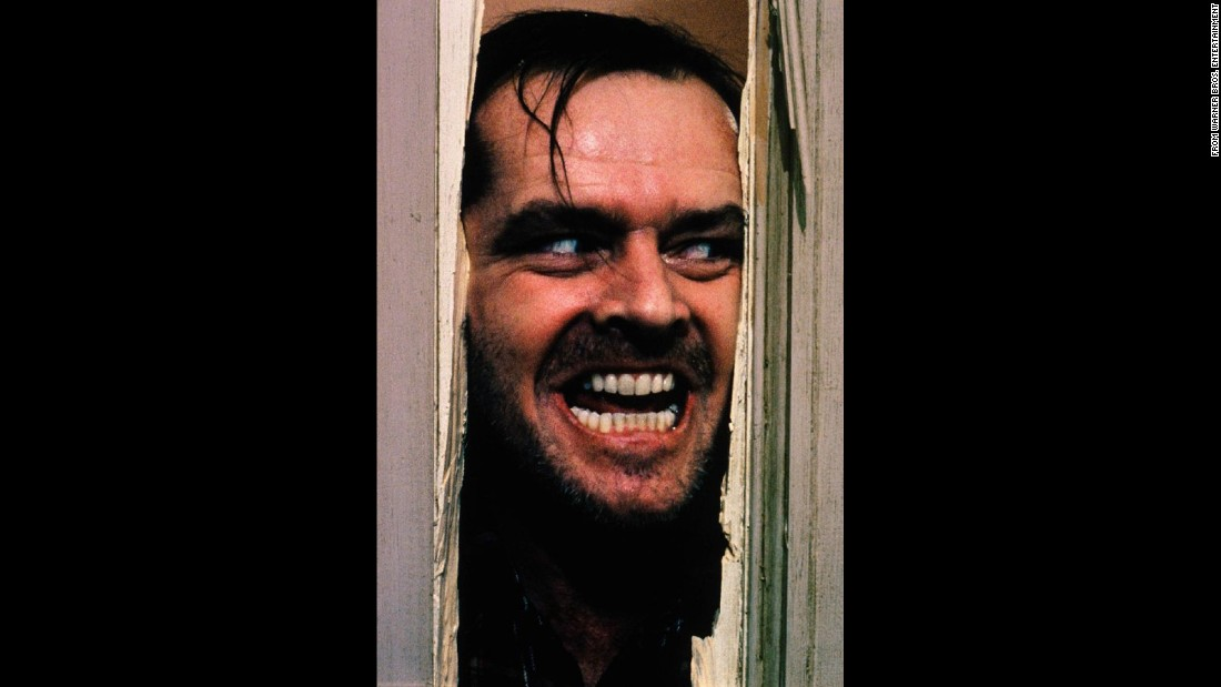 "<strong>'The Shining': </strong>""Heeeere's Johnny!""<strong> </strong>In this 1980 adaptation of Stephen King's novel, Jack Nicholson plays an off-season caretaker of a haunted hotel whose young psychic son, Danny, has the unfortunate ability to see ghosts. Although this was director Stanley Kubrick's first horror film, many consider it among the most terrifying movies of all time. But King is apparently not a fan -- calling it ""cold."""