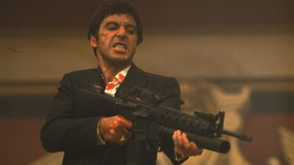 """""""Scarface"""" In 1983, Al Pacino"""