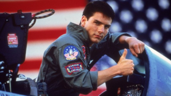 """""""Top Gun"""" After this 1986 film, Tom Cruise became the grown-up and bankable box-office star we know today. This drama, about a cocky Navy fighter pilot, introduced such unforgettable lines such as """"I feel the need, the need for speed"""" and """"It"""
