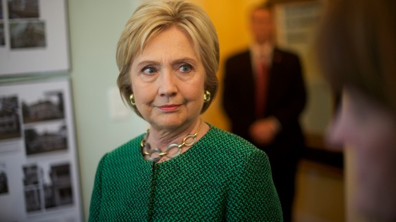 Democratic Presidential candidate former Secretary of State Hillary Clinton visits the non-profit SC Strong, a 2 year residential facility that helps former felons, substance abusers, and homeless move into self-sufficiency February 24, 2016 in North Charleston.