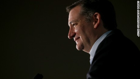 Republican presidential candidate U.S. Sen Ted Cruz (R-TX) speaks during his caucus night gathering at the Bill and Lillie Heinrich YMCA on February 23, 2016 in Las Vegas, Nevada.