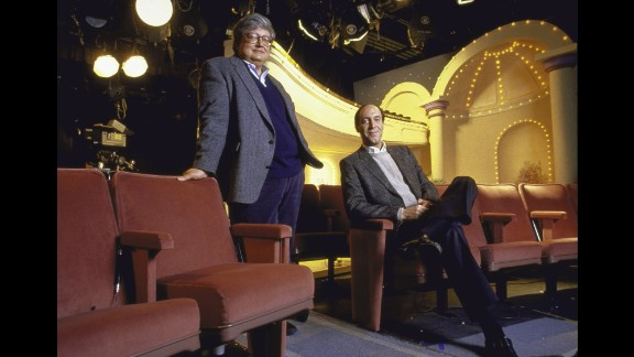 """<strong>'Siskel & Ebert & the Movies':</strong> These were the film critics who coined the phrase """"two thumbs up."""" But Gene Siskel, right, and Roger Ebert contributed so much more than that to American culture. From 1986-1999, their nationally syndicated show reviewed each week's major new releases. When they disagreed, their passion showed through and they could really go at it -- turning their on-camera movie debates into some pretty entertaining TV."""