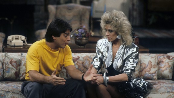 """<strong>'Who's the Boss?':</strong> Premiering in 1984, """"Who's the Boss?"""" featured Tony Danza, left, as a macho live-in housekeeper working for a divorced advertising executive played by Judith Light, right. His young daughter, played by Alyssa Milano, moves in, too."""