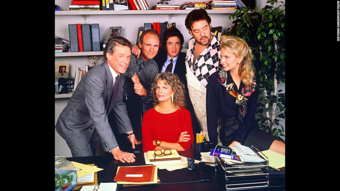 <strong>'Murphy Brown': </strong>This CBS newsroom comedy starring Candice Bergen, seated, ran from 1988-1998 and made political history in real life during the '92 presidential campaign. After Vice President Dan Quayle slammed the show because Brown's character was a single mother, the producers included Quayle's comments in the show and had Bergen's character respond. Life slams art, and art slams life. Genius.