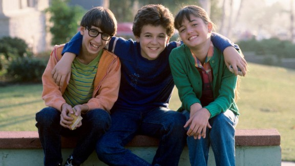 <strong>'The Wonder Years': </strong>It seemed like we all learned some kind of life lesson at the end of each episode of this nostalgic ABC series, which aired from 1988-1993. It followed Kevin Arnold (played by Fred Savage, center) as he grew up in suburban America in the late 1960s and early '70s.