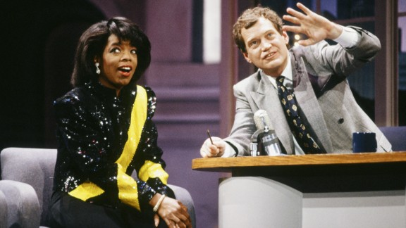 """<strong>'Late Night with David Letterman': </strong>When David Letterman's talk show launched on NBC in 1982, he re-invented late night TV by introducing us to elevator races, freaky characters such as """"The Guy Under The Seats,"""" and something called the """"Late Night Monkey Cam."""" For years, an alleged """"feud"""" with Oprah Winfrey was a hot topic for gossip columnists and the subject of Letterman's jokes."""
