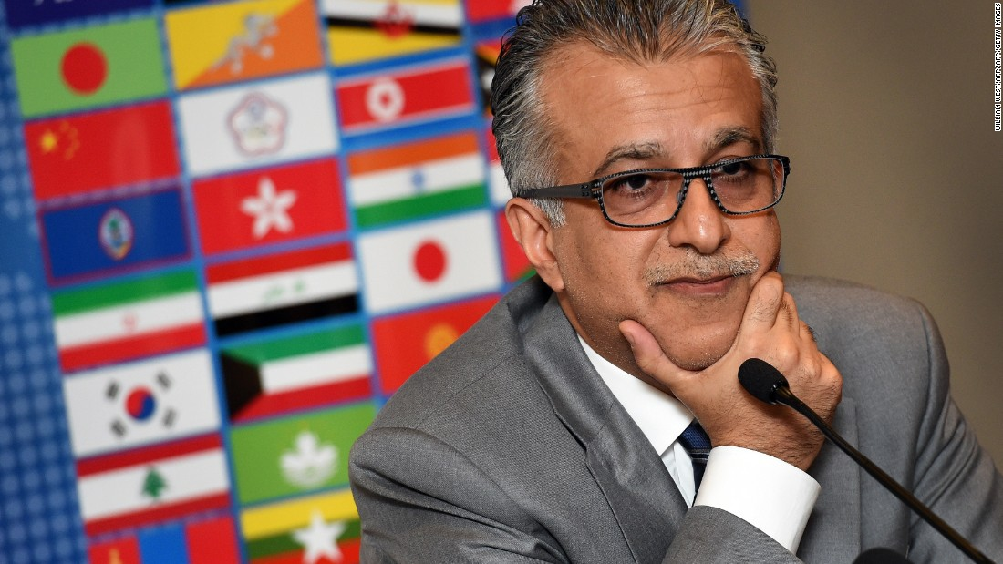 Asian Football Confederation chief Shaikh Salman bin Ebrahim Al Khalifa was expected to be one of the frontrunners. He failed to add to his 88 votes from the first round of voting.