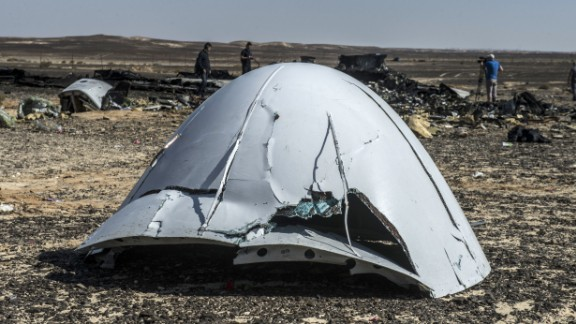 Metrojet Flight 9268 crashed in Egypt