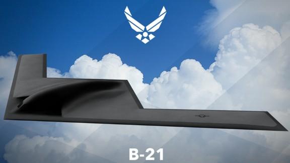 B-21 artist rendering